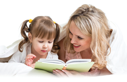 mom-and-her-daughter-reading