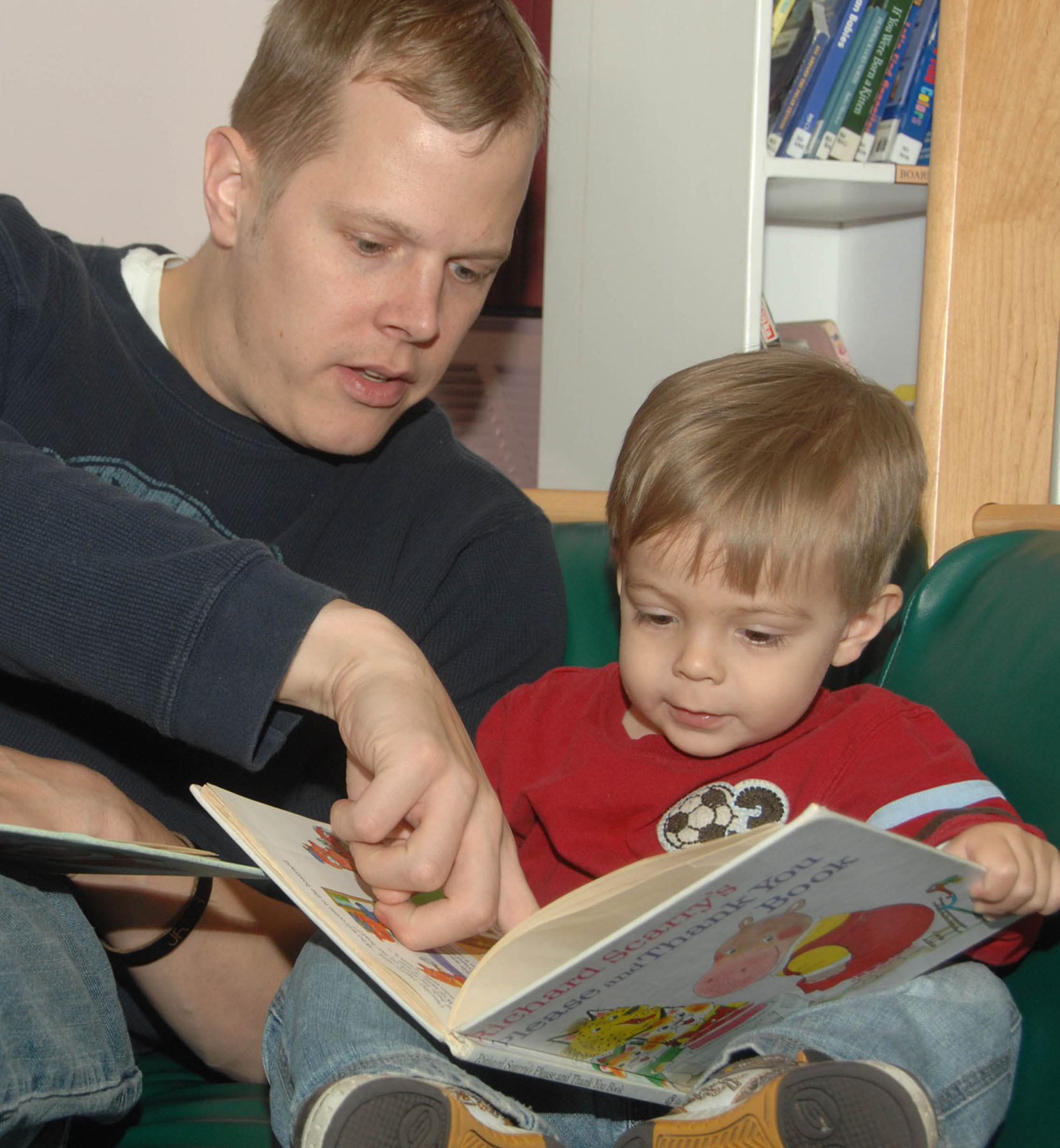 father-reading-to-a-son