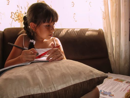 girl-studying-at-home