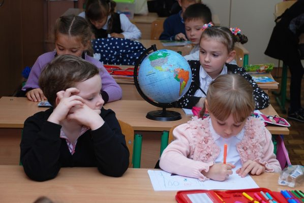 first-graders-at-school