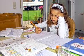 girl-writing-homework