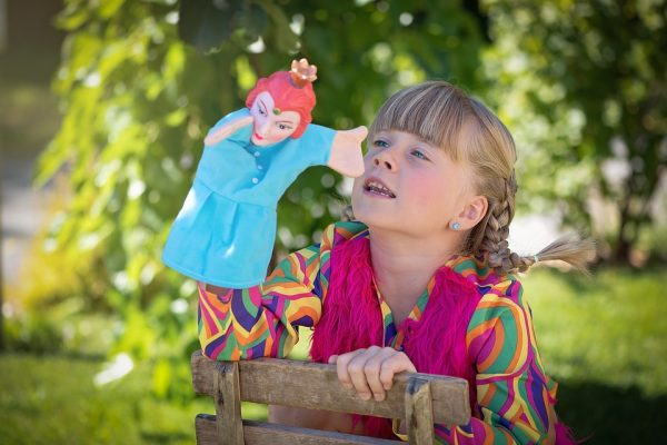 child-with-a-puppet